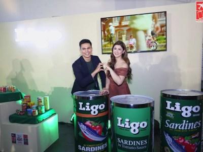 Ligo Brand Endorsers Tom Rodriguez and Carla Abellana