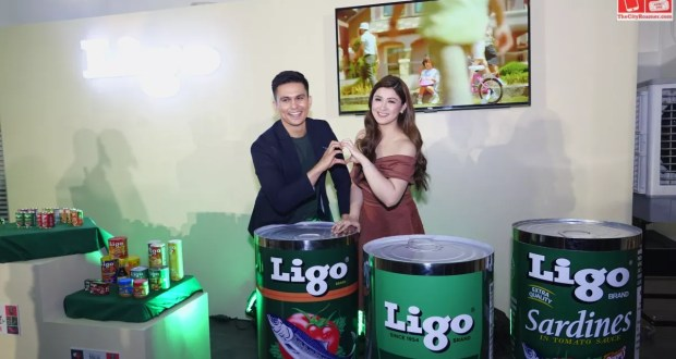 Ligo Brand Endorsers Tom Rodriguez and Carla Abellana