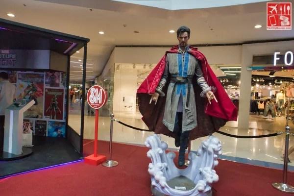 A life-sized Doctor Strange