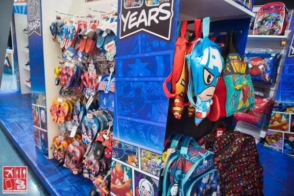 More Marvel merchandise for kids