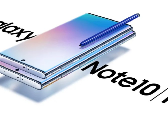 Samsung Galaxy Note10 and Note10plus