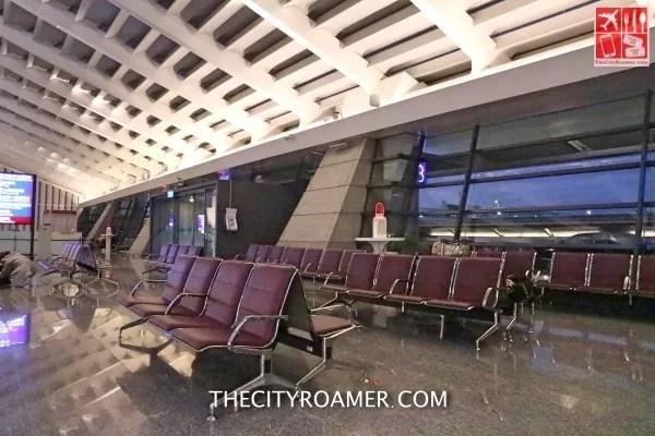 Seating area of Taoyuan International Airport_Fotor