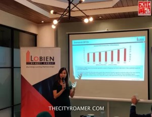Philippine Real Estate continues to grow according to The Lobien Realty Group CEO Sheila Lobien
