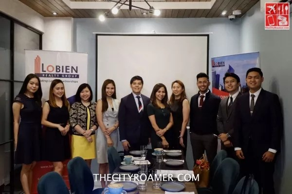 The Lobien Realty Group Executives and Staffs presented the Philippine Real Estate Market Update