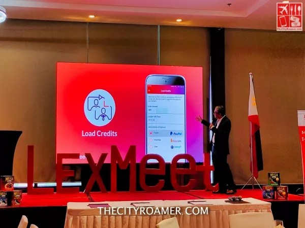 Atty Valderama shows different ways to add credit on LexMeet
