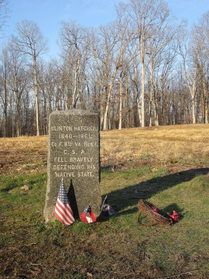 Clinton Hatcher Headstone