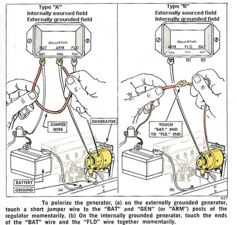 ford 8n generator wiring diagram warn atv winch solenoid polarizing a - the cj2a page forums