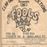 The Clap And The Fools