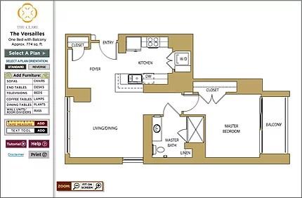 Interactive Floor Planner