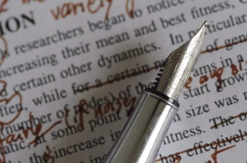 My approach to line & copy editing