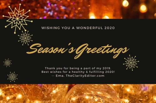 A very happy holidays 2019-2020!
