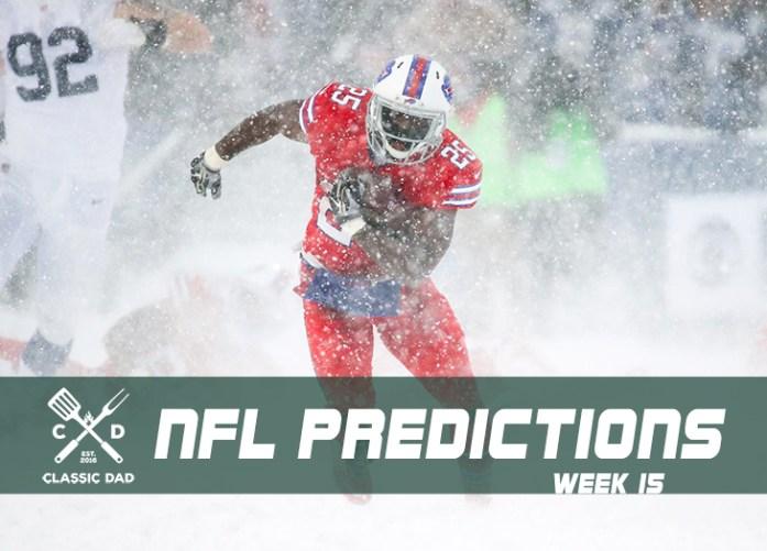Classic Dad NFL Predictions -- Week 15, 2017 | Classic Dad
