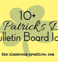 St. Patrick's Day Bulletin Boards [ 3413 x 5120 Pixel ]