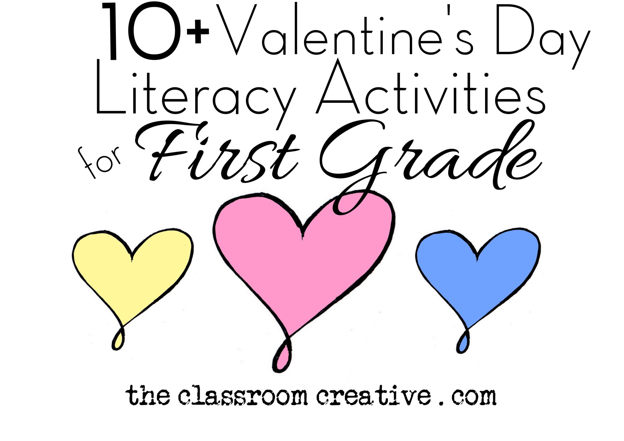 hight resolution of Valentine's Day Literacy Activities for First Grade