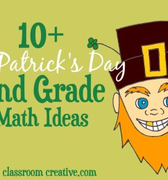 St. Patrick's Day Math Ideas for Second Grade [ 766 x 1070 Pixel ]