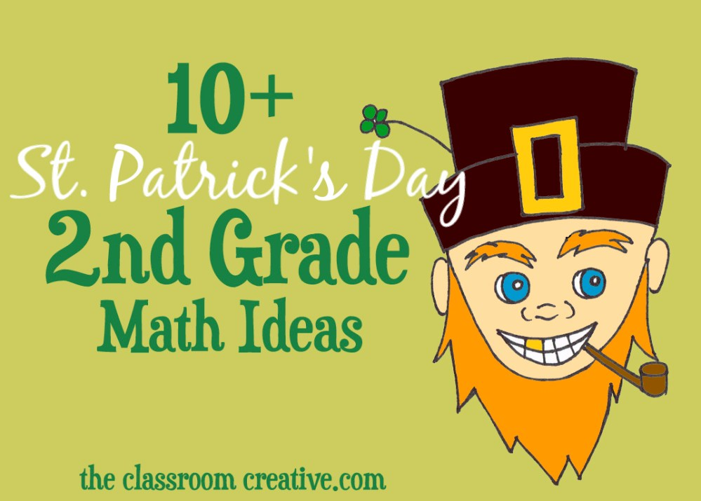 medium resolution of St. Patrick's Day Math Ideas for Second Grade