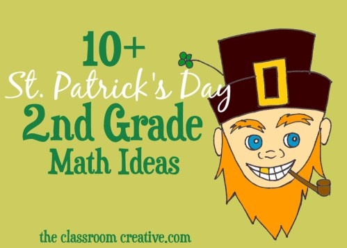 small resolution of St. Patrick's Day Math Ideas for Second Grade