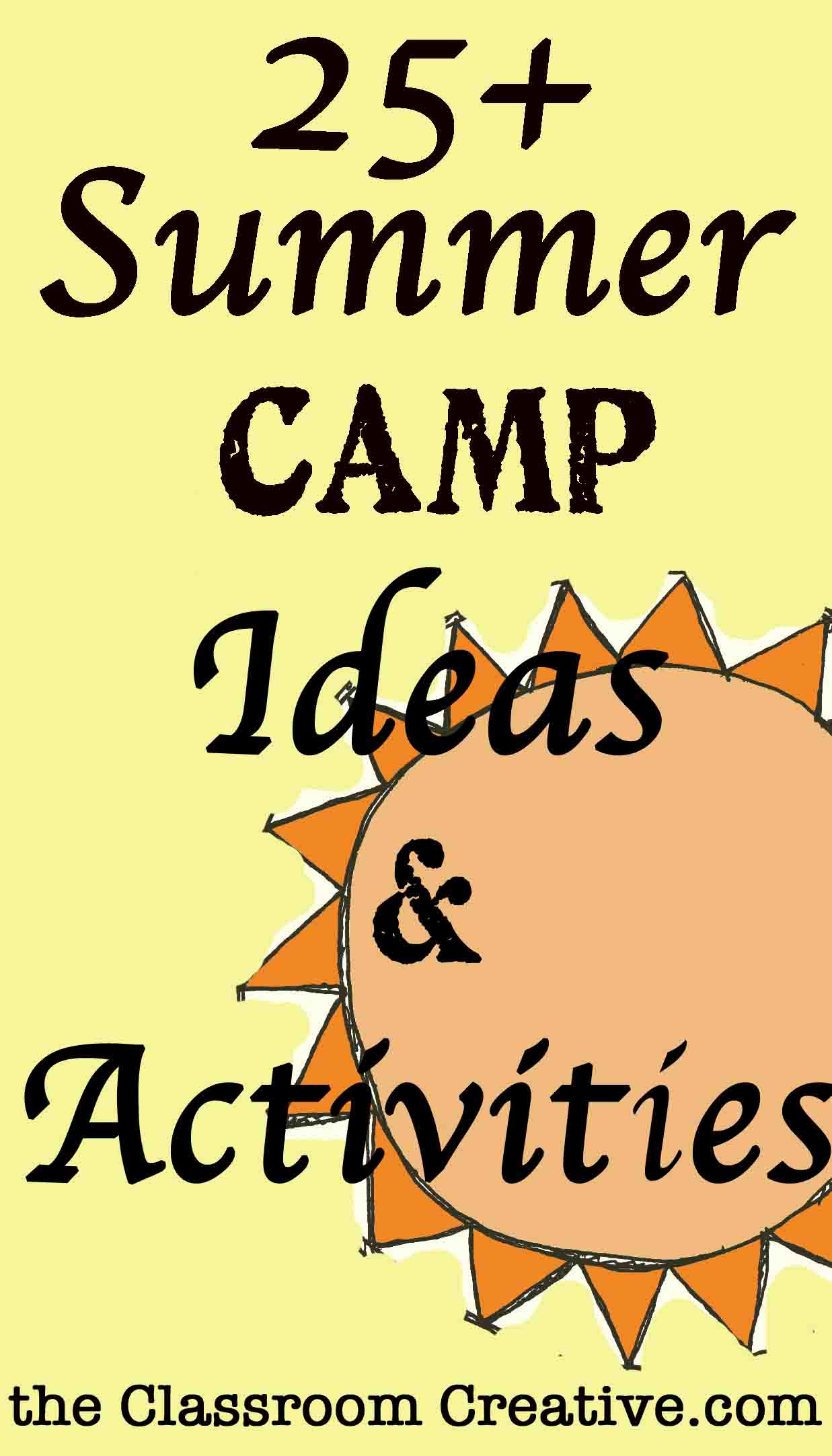 Camp Theme Ideas Amp Activities