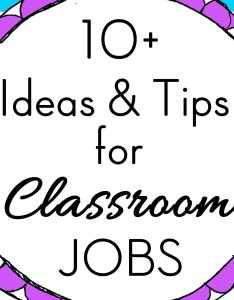 also classroom jobs chart tips  ideas rh theclassroomcreative