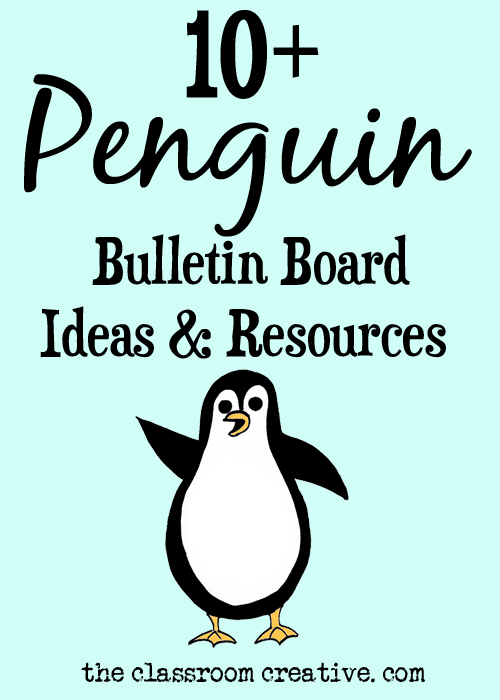 Penguin Bulletin Board Ideas And Resources