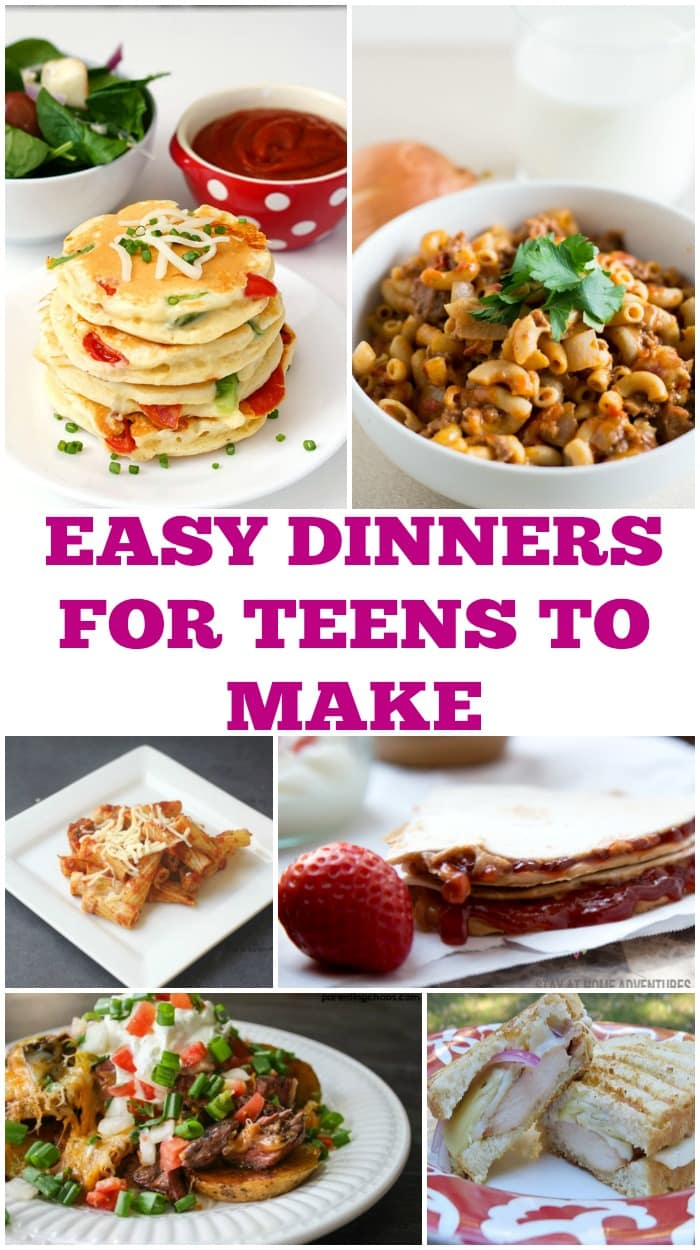 Easy Recipes for Teens To Cook at Home