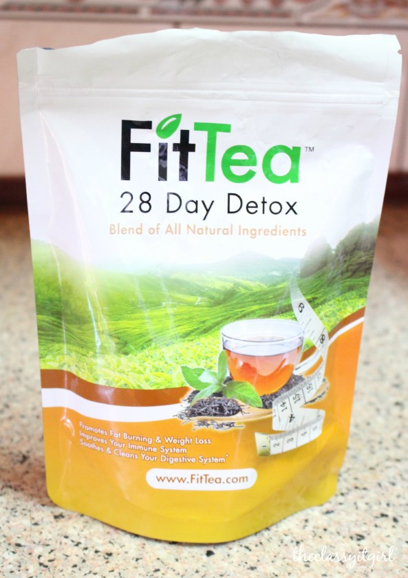 Fit Tea 28 Day Detox & My New Healthy Lifestyle - Roxy James