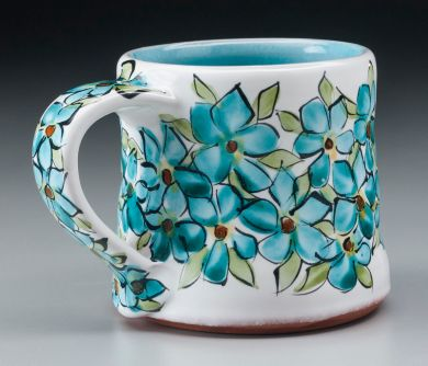 "Flower Cup 5""x4""x3.5"""