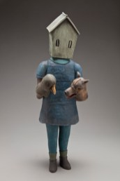 Girl with Puppets