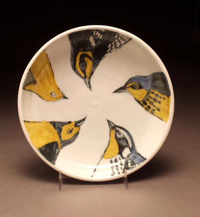 bird head bowl - Glynnis Lessing