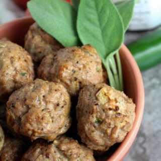 Healthy Apple Jalapeño Turkey Meatballs Recipe