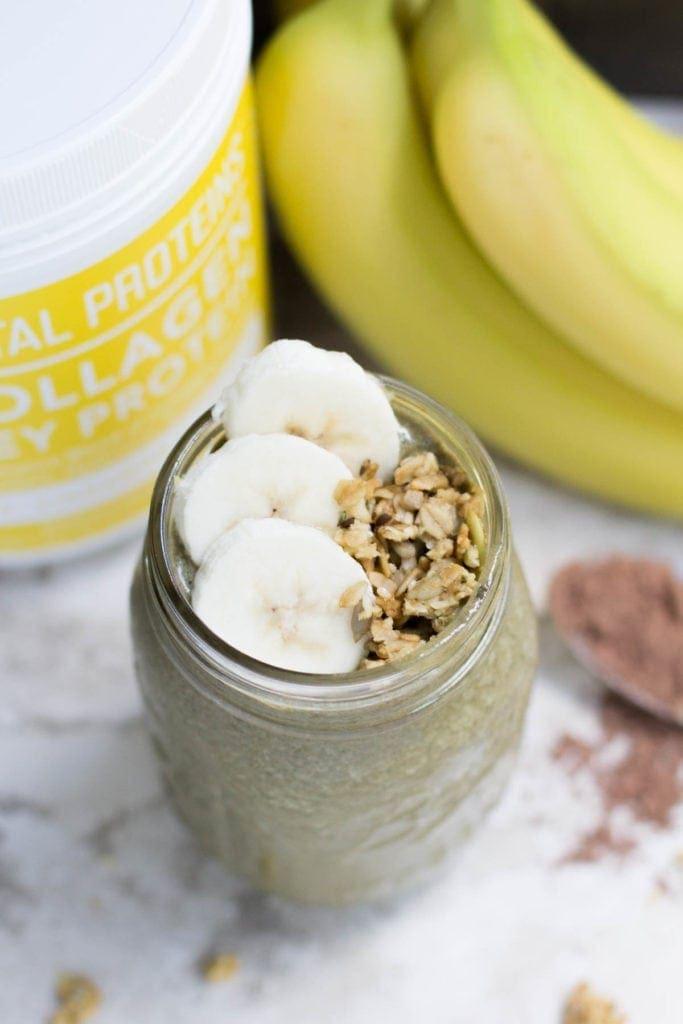 Hidden Veggie Banana Cacao Protein Shake