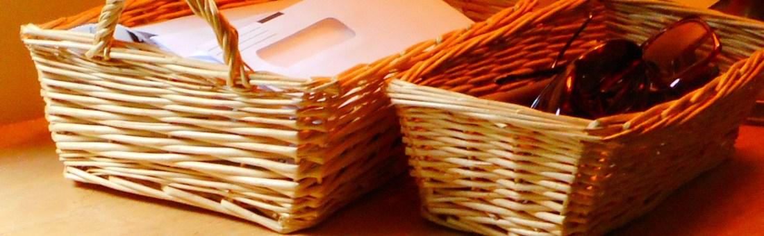 baskets for storage
