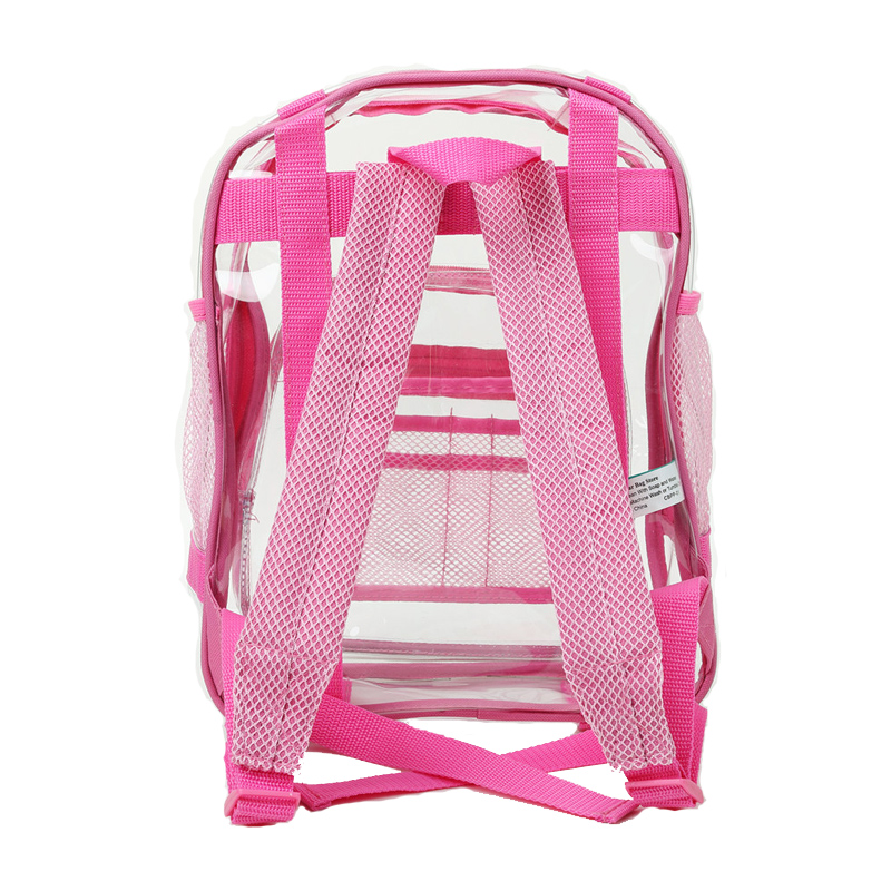 Clear Plastic Backpack  Heavy Duty  The Clear Bag Store