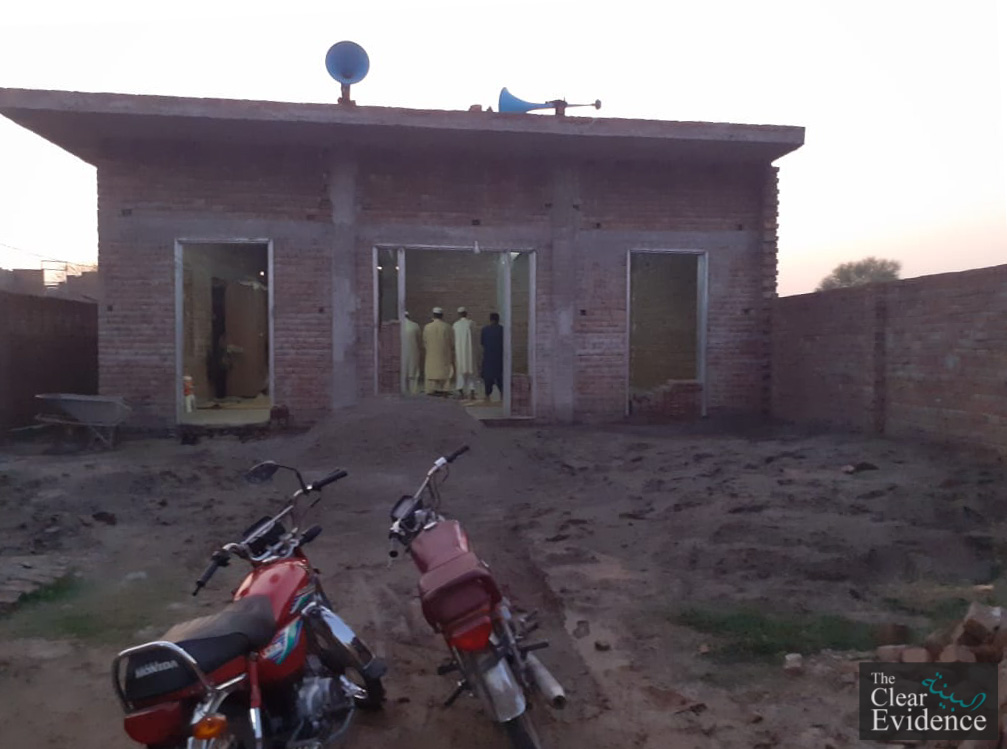 Construction of a Masjid in Chand Colony, Multan