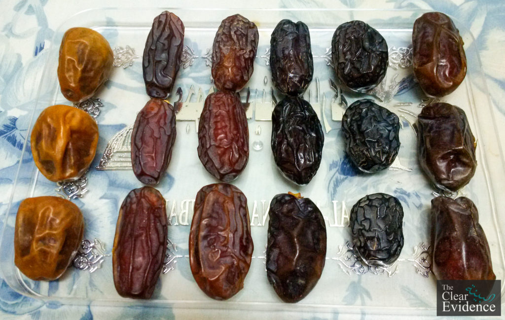 Dates from Madina for Ramadan 2017 Project