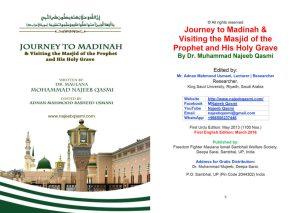 Featured Image - Video eBook Journey to Madina - Dr. Mohammad Najeeb Qasmi (English)