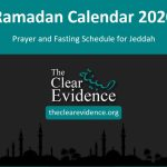 Featured Image - Prayer and Fasting Schedule in Ramadan 2020 in Jeddah (English)