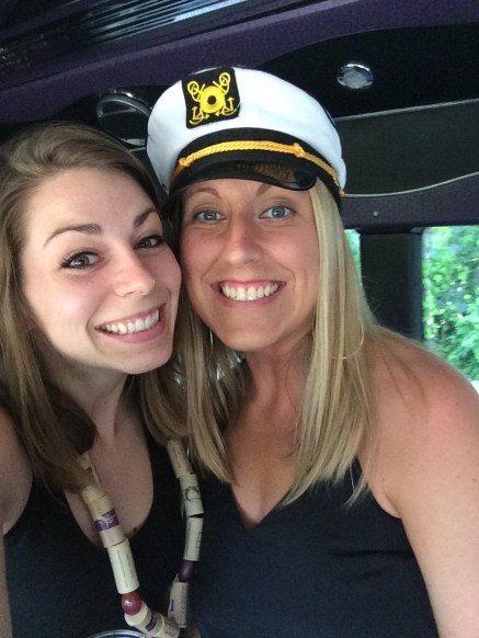 The Captain aka Bride-to-Be!