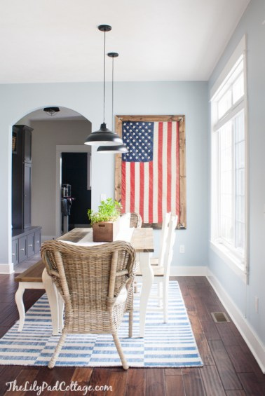 American Flag Decor(2) - the bee life