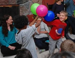 Ethan balloon fight