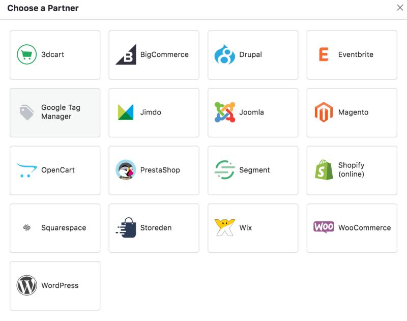 Facebook pixel partners