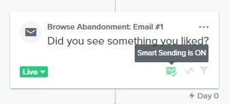Smart Sending feature