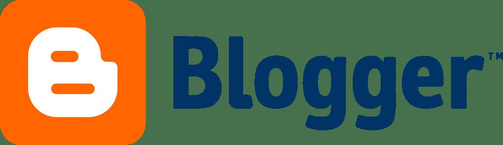 Blogger blogging platform logo
