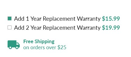 UntilGone replacement warranty