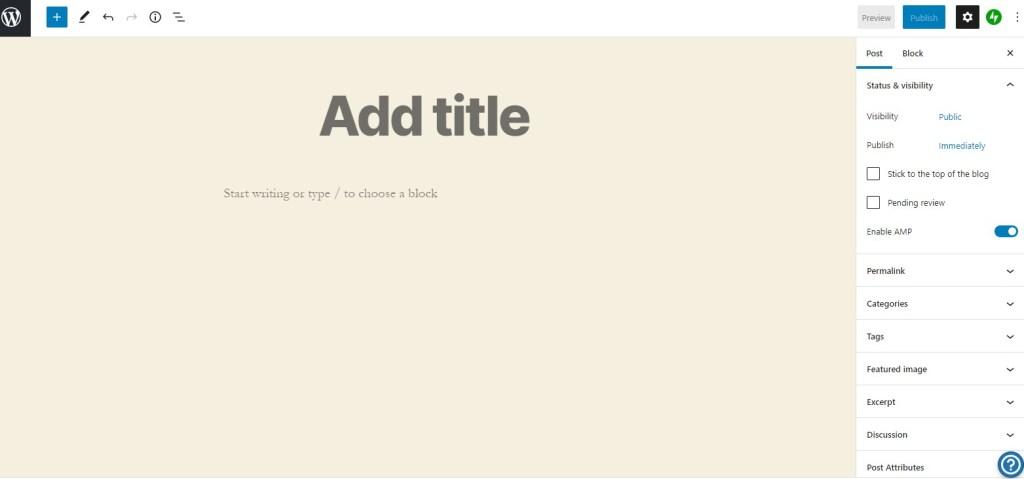 Edit a blog post in WordPress.com