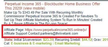 ClickBank affiliate material link