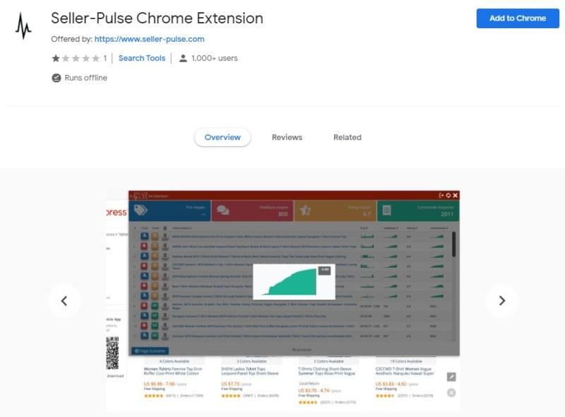 Seller Pulse Chrome Extension