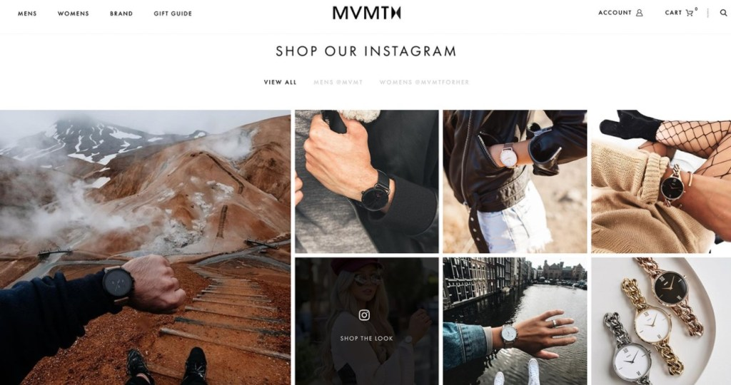 Foursixty Shoppable Instagram