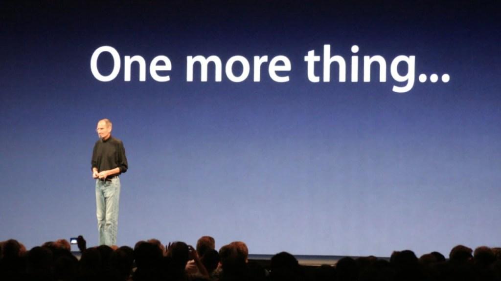 Apple uses peak-end rule