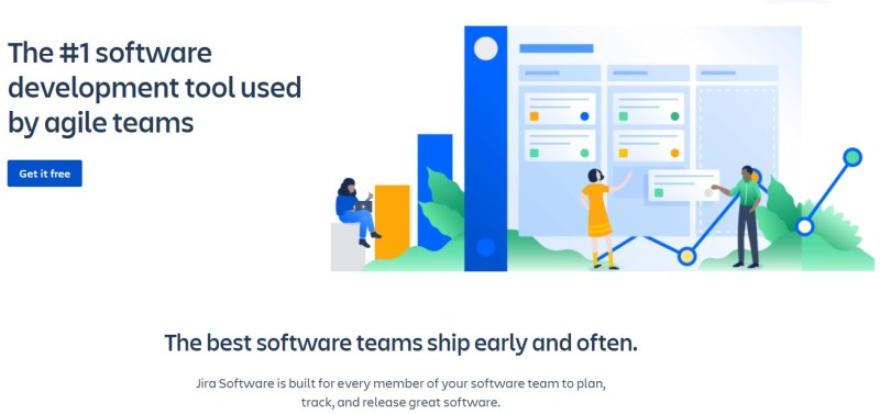 Jira landing page with the curse of knowledge